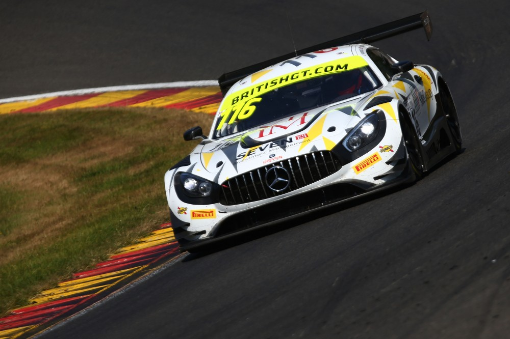 FP2: Buurman and Osborne lead the way in Spa-Francorchamps second practice