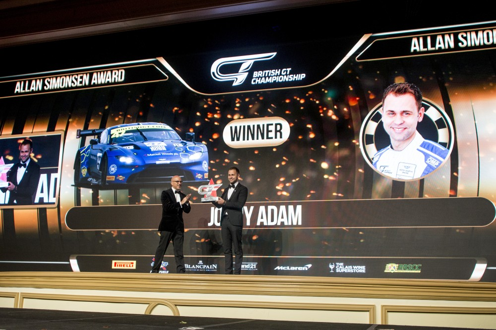 British GT champions crowned in Las Vegas