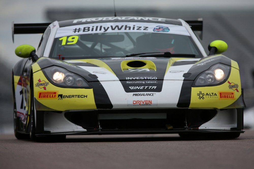 Century's Ginetta GT3 returns at Silverstone with Schjerpen and Robertson
