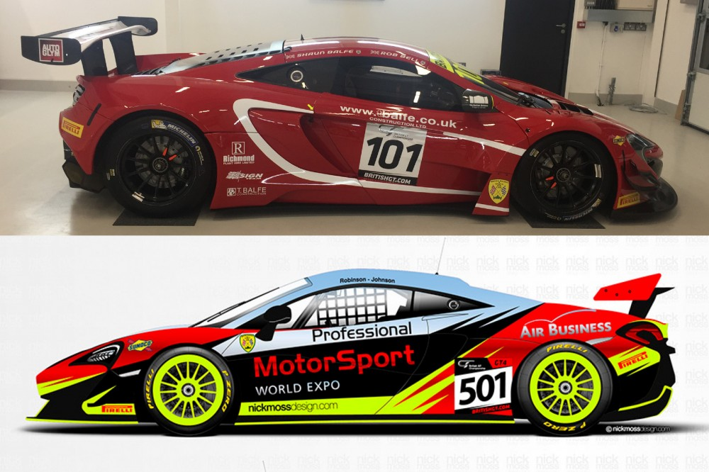 Balfe Motorsport and PMW Expo team up for McLaren GT3/GT4 entries