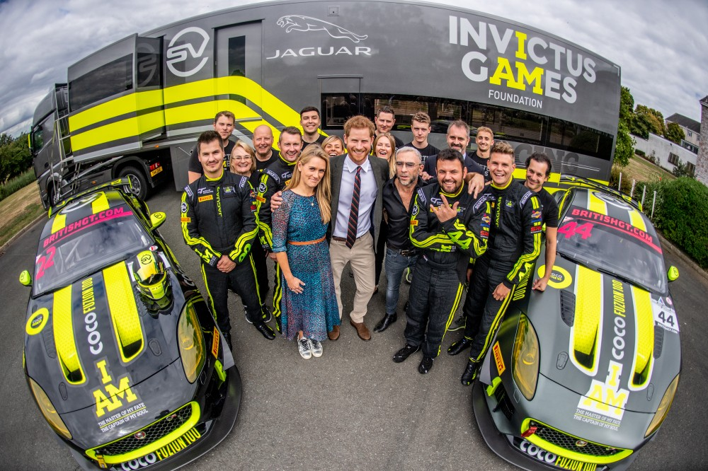 Invictus Games Racing meets the Duke of Sussex