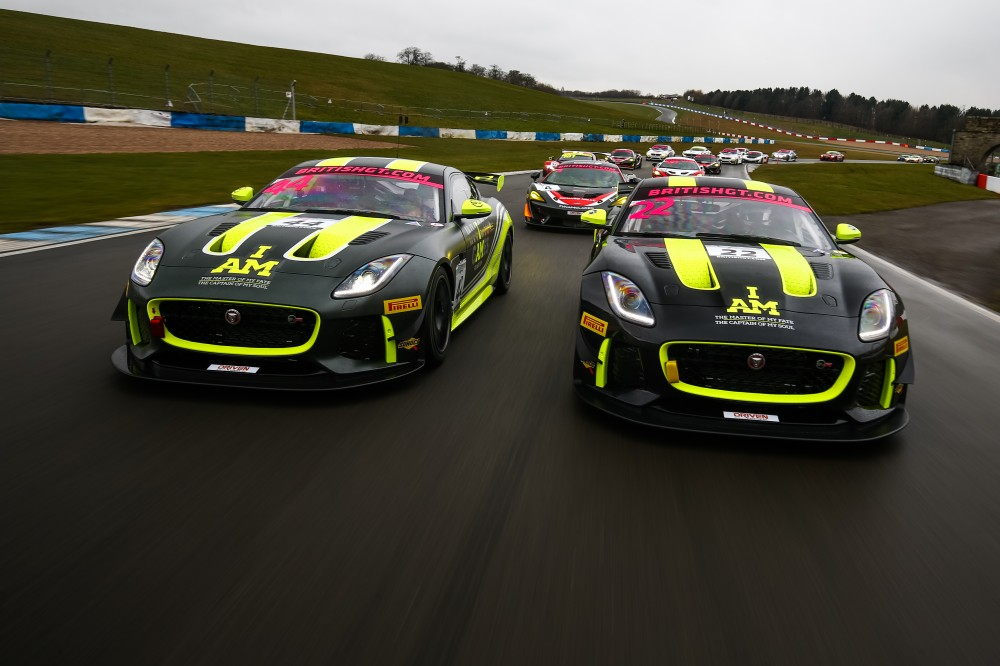Take a ride aboard Invictus Games Racing's Jaguar GT4 at Silverstone!