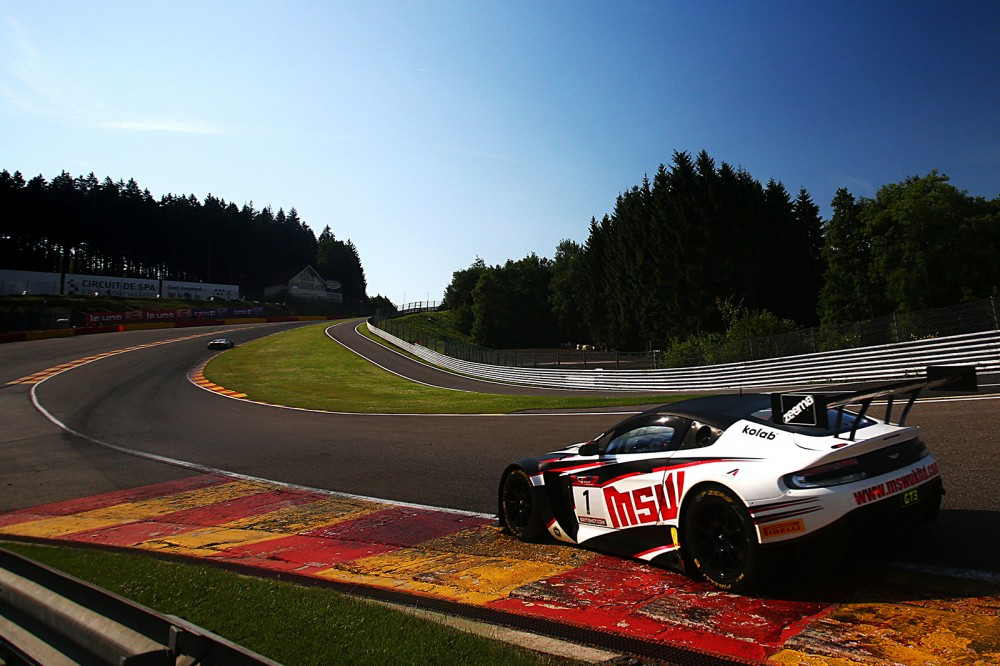 British GT Belgium-bound for SRO Speedweek at Spa