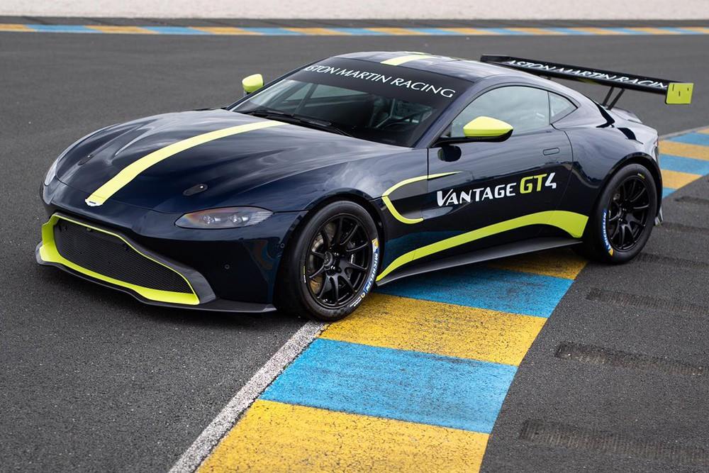 Tf Sport Returns To Gt4 With New Aston Martin Vantage And Toth Jones