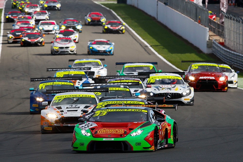 British GT reveals record-breaking 38-car full-season entry list