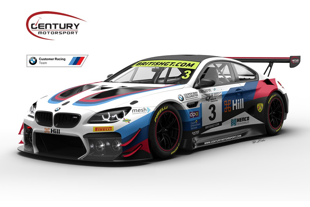 Century adds second BMW M6 GT3 for Paul and Green