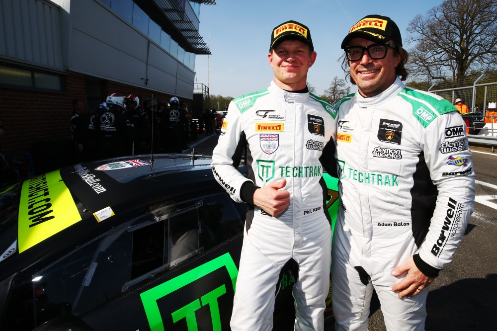 Balon and Keen back for British GT3 assault with Barwell