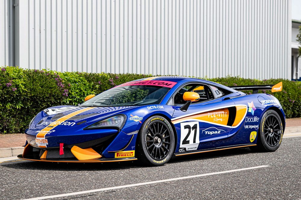 Pure McLaren winners Flewitt and Proctor set for British GT4 debuts with Balfe