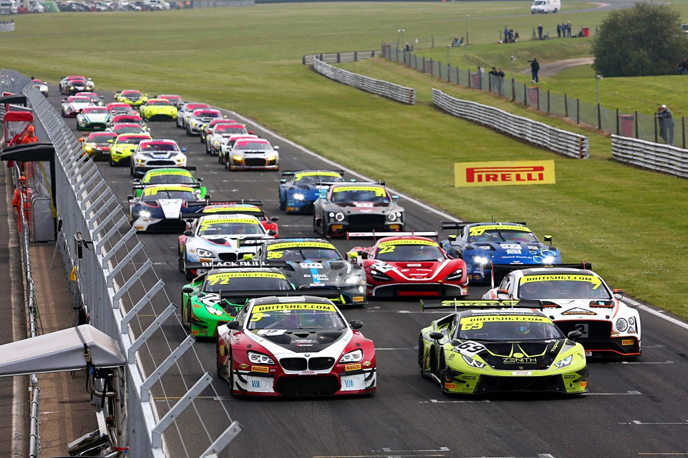 British GT Media Day returns to Snetterton on March 3