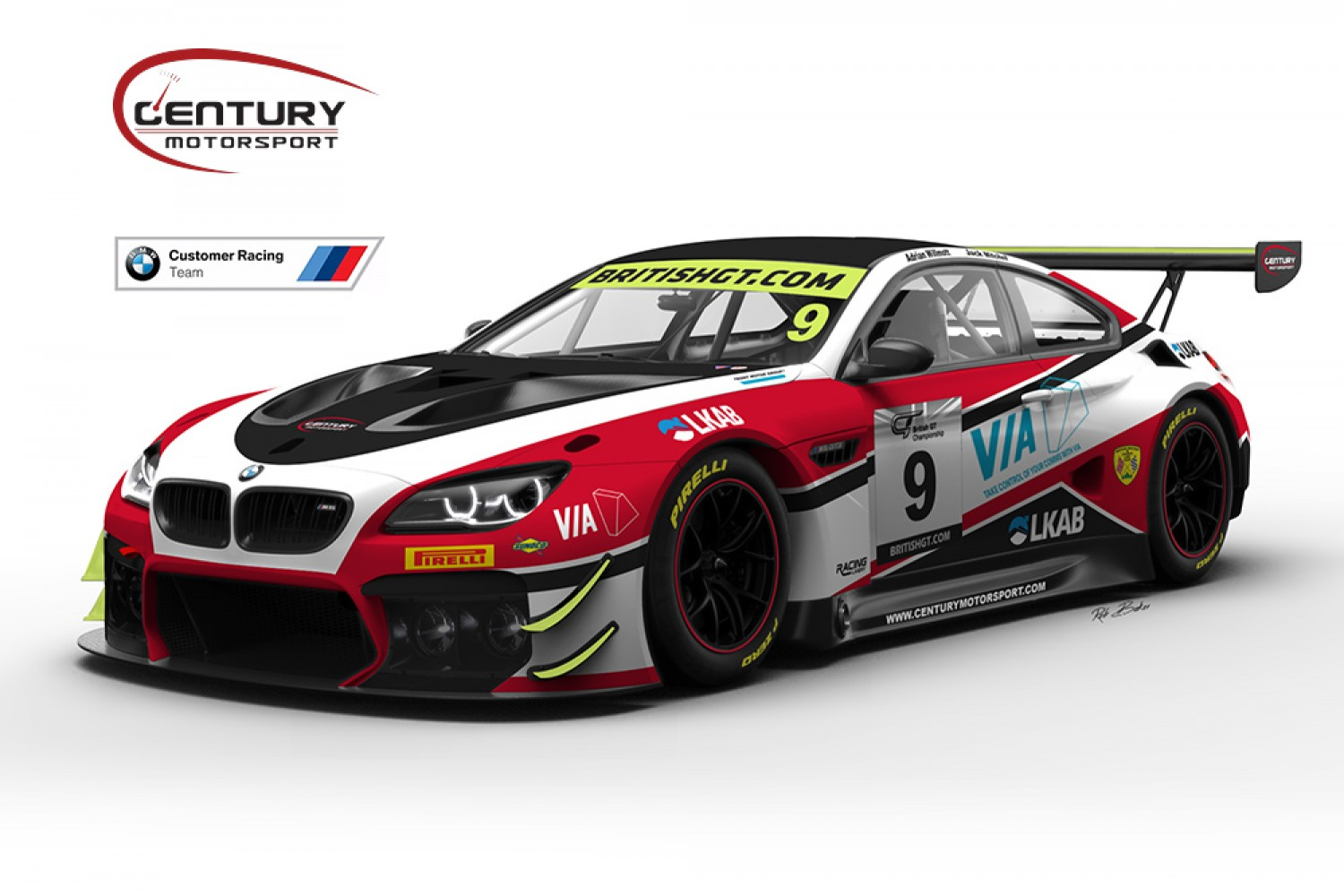 Reigning GT4 champions Century confirm GT3 expansion with Willmott, Mitchell and BMW