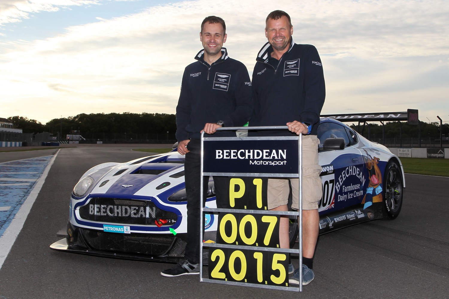 Howard and Adam reunite for full-time return with Beechdean AMR