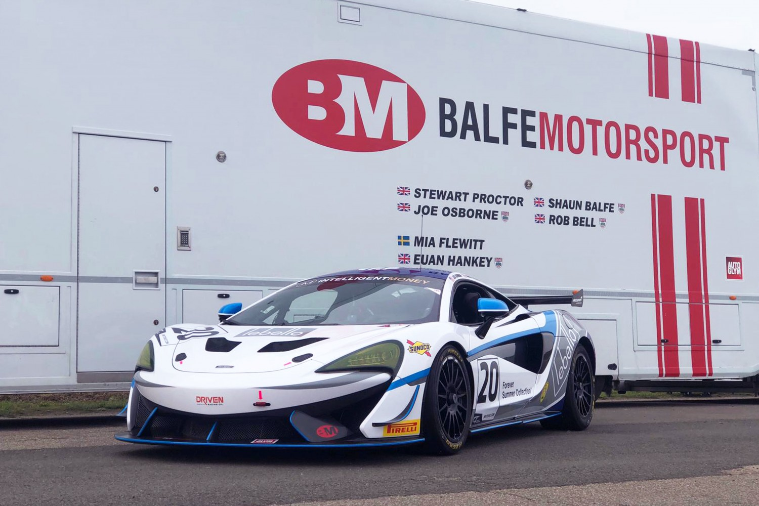 Dahmann and Hollings complete Balfe's three-strong Silverstone 500 GT4 entry