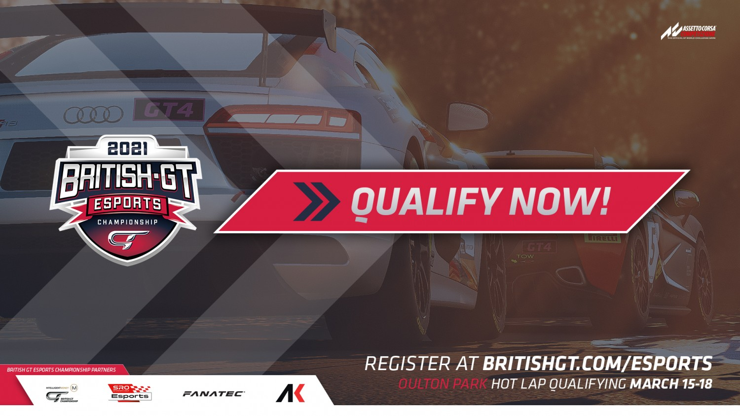 Esports Hot Lap Qualifying is OPEN!
