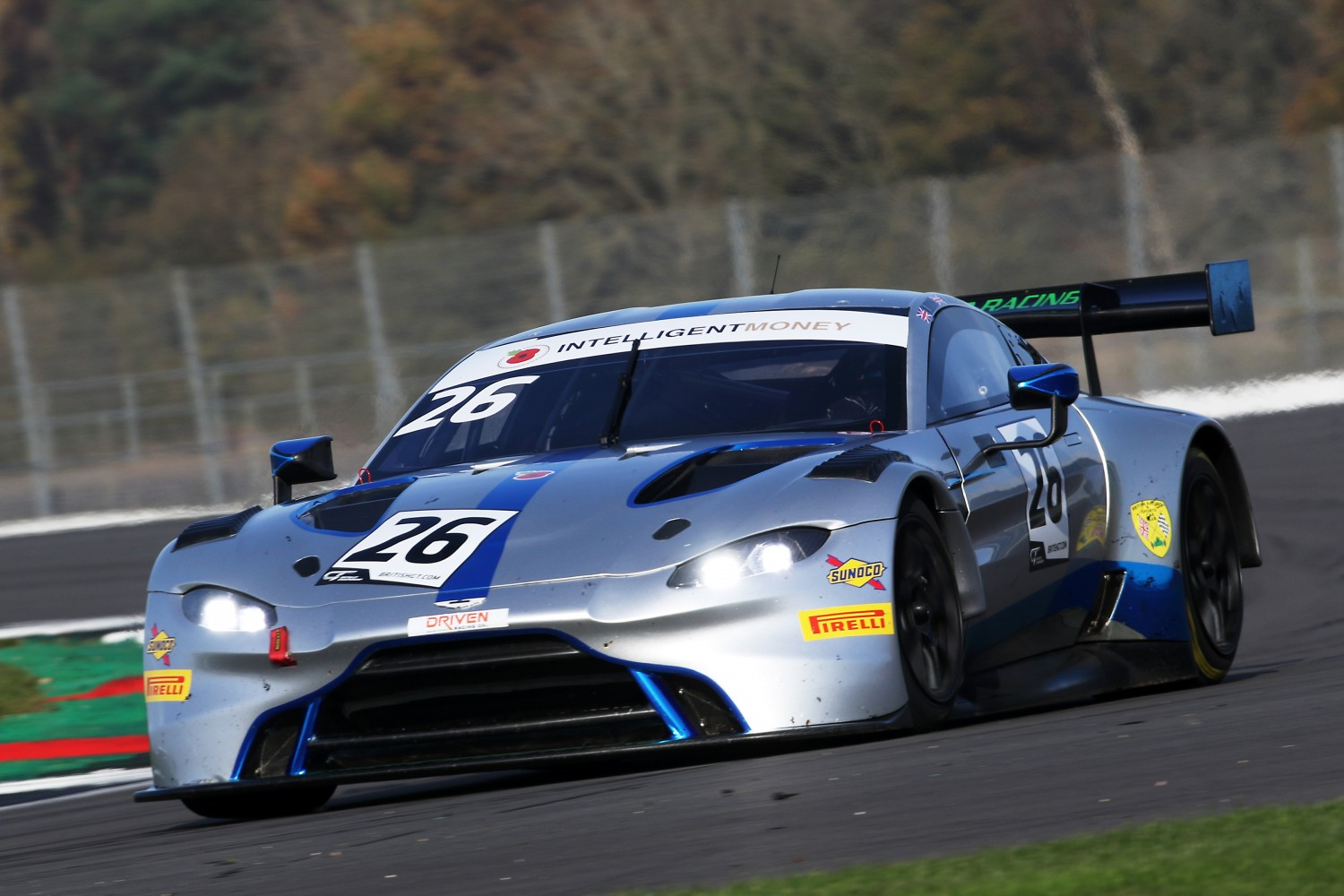 #26 Michael Brown / Matt Manderson - Ultimate Speed Aston Martin Vantage AMR GT3 | SRO Motorsports Group
