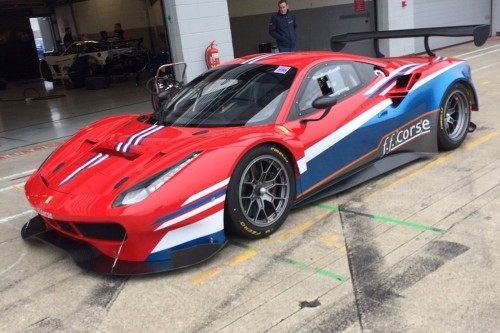 View article: Ferrari 488 GT3 set for British GT debut at Silverstone with Attard and Carroll