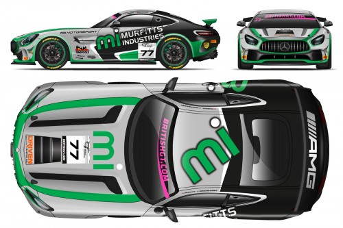 View article: Fox make GT4 return with Murfitt, Broadhurst and Mercedes-AMG