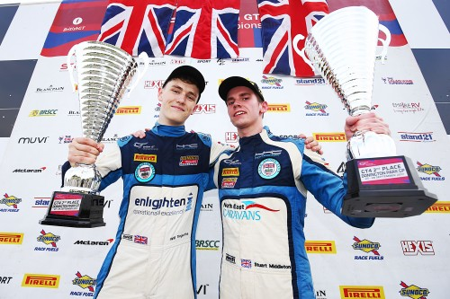 View article: Champions Tregurtha and Middleton make European GT4 move with HHC and Ginetta