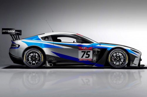 View article: Optimum unveil Aston Martin GT3 assault for Haigh and two-time champion Adam