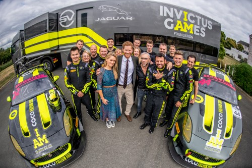 View article: Invictus Games Racing meets the Duke of Sussex