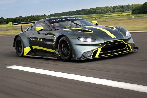 View article: Farmer and TF Sport return with new Aston Martin Vantage GT3