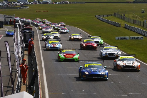 View article: Season-high 36 cars set for British GT's blue riband Silverstone 500