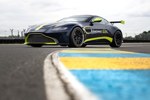 View article: Optimum enter British GT4 with Aston Martin and O'Brien