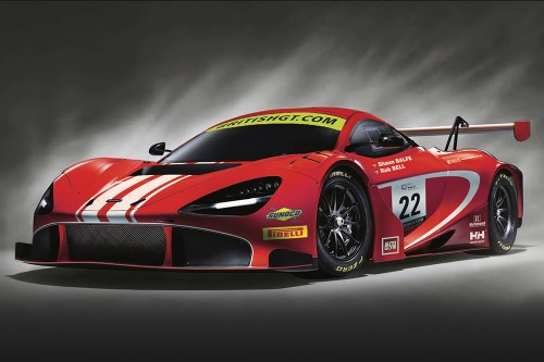 View article: Balfe brings new McLaren 720S GT3 to British GT