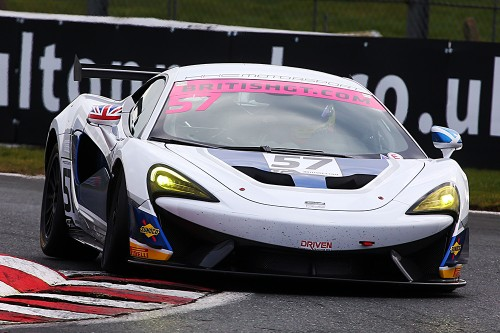 View article: Jackson and Williams complete HHC's McLaren GT4 line-up
