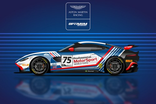 View article: Optimum confirm Robinson and Matthiesen in second Aston Martin GT4