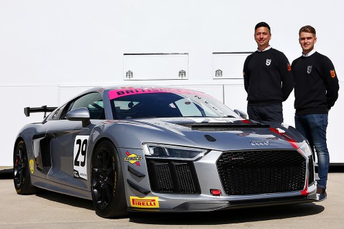 View article: Audi to make British GT4 debut with Steller Motorsport