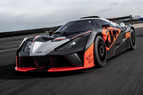 View article: KTM returns to British GT with Track Focused