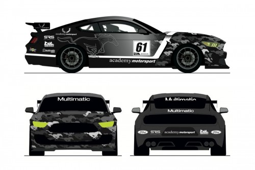 View article: Academy joins forces with Multimatic for Mustang GT4 programme