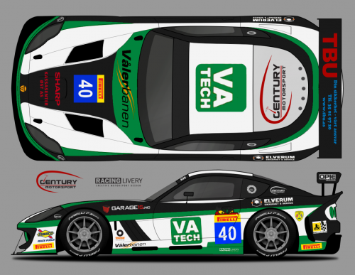 View article: Century Motorsport confirms second Ginetta GT4 for Byrne and Schjerpen