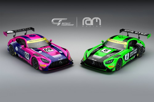 View article: RAM confirm two evo-spec Mercedes-AMG GT3s for De Haan/Kujala and Loggie/Buurman