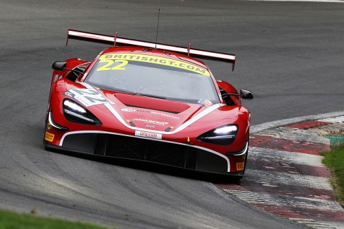 View article: Balfe and Bell's McLaren edges tight qualifying session at Brands Hatch