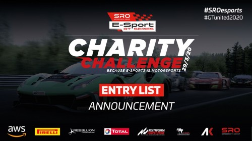 View article: Virtual GT racing takes centre stage at Monza for SRO E-Sport GT Series Charity Challenge
