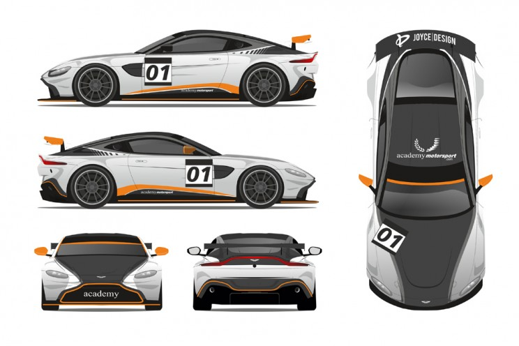 View article: Hurst and Stanley join Academy's Aston Martin GT4 line-up