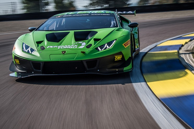 View article: Barwell confirms two new Evo-spec Lamborghini Huracan GT3s for 2019