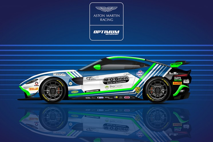 View article: Butel joins O'Connor aboard Optimum's first Aston Martin GT4