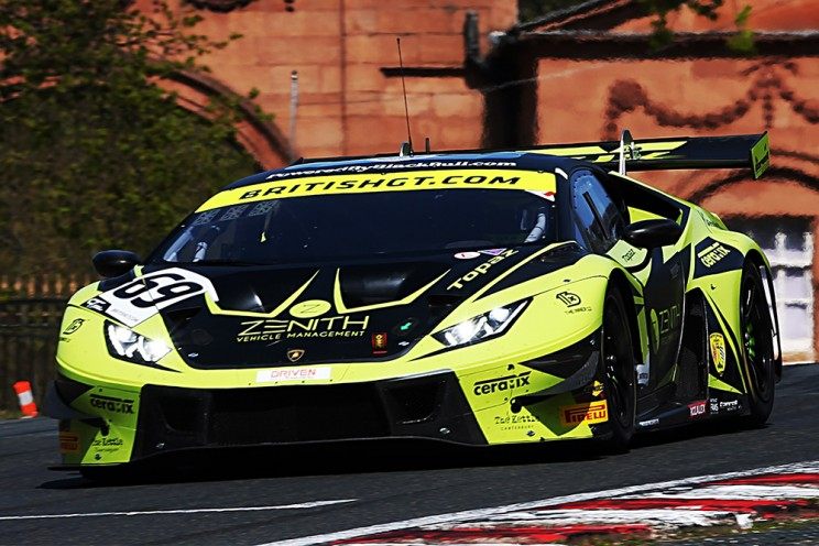 View article: Oulton Park FP2: Barwell's Lambos finish one-two; Priaulx's Mustang leads GT4
