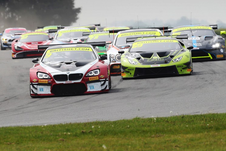 View article: Record 42-car entry assembled for British GT's Silverstone 500 showpiece